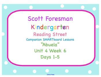 Kindergarten Reading Street SMARTboard Companion- Unit 4 Week 6  Abuela
