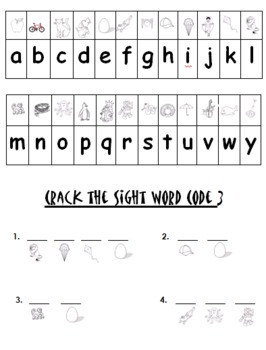 Kindergarten Reading Street Sight Word Fun