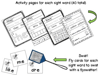 Reading Street Kindergarten Sight Word Mega Pack