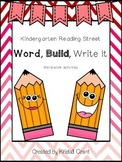 Kindergarten Sight Word- Read, Build, and Write It (Readin