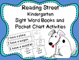 Reading Street Kindergarten Sight Word Readers and Pocket Chart Activities