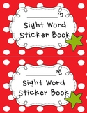 Kindergarten Reading Street Sight Word Sticker Book