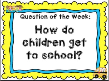 Kindergarten Reading Street The Little School Bus Day 1 Flipchart