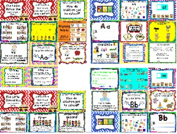 Kindergarten Reading Street The Little School Bus Unit 1 Week 1 Flipchart