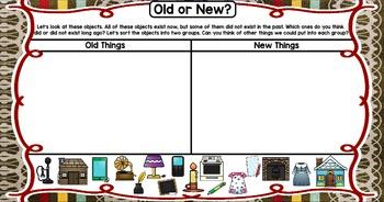 Kindergarten Reading Street Then & Now Unit 3 Week 5 Flipchart