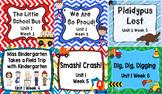 Kindergarten Reading Street Unit 1 Flipchart Bundle