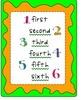 2008 and 2011 Kindergarten Reading Street Unit 1 Focus Wall - Neon Colors