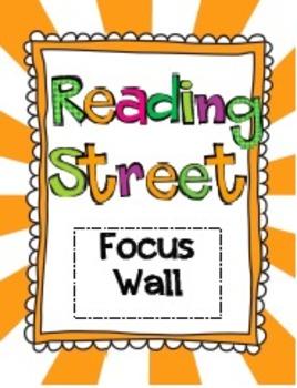 2008 and 2011 Kindergarten Reading Street Unit 1 Focus Wal