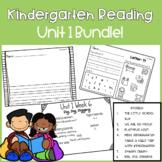 Kindergarten Reading Street Unit 1 Pack!