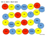 Kindergarten Reading Street Unit 2 Board Games