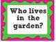 2008 and 2011 Kindergarten Reading Street Unit 2 Focus Wall -  Neon Colors