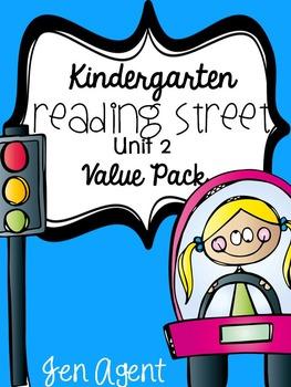Kindergarten Reading Street {Unit 2 Value Pack}