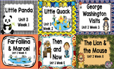 Kindergarten Reading Street Unit 3 Flipchart Bundle