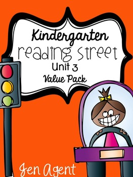 Kindergarten Reading Street {Unit 3 Value Pack}