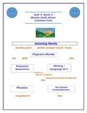 Kindergarten Reading Street Unit 3 Week 2 Weekly Skills Sh