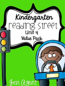 Kindergarten Reading Street {Unit 4 Value Pack}