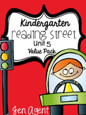 Kindergarten Reading Street {Unit 5 Value Pack}