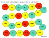 Kindergarten Reading Street Unit 6 Board Games