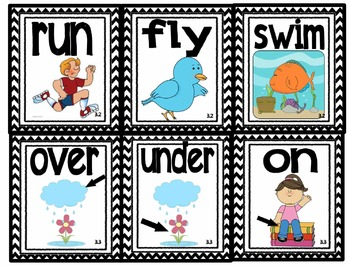 Reading Street Kindergarten Vocabulary Words with Pictures!