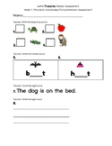 Kindergarten Reading Street Weekly Assessment