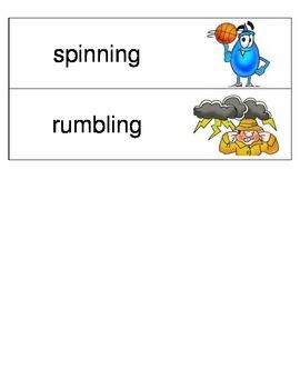 Kindergarten Reading Streets Amazing Word cards Unit 1 Week 6