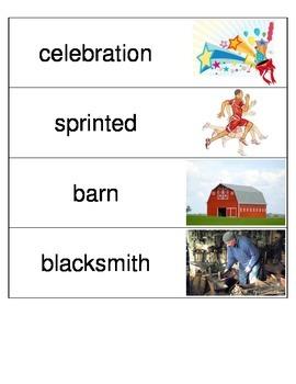 Kindergarten Reading Streets Amazing Word cards Unit 3 bundle