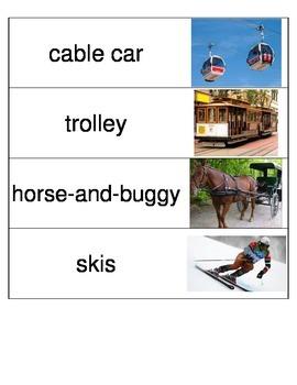 Kindergarten Reading Streets Amazing Word cards Unit 5 Week 6
