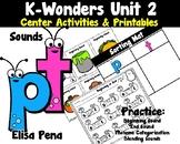 Kindergarten Reading Wonders Center Activities Unit 2