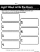 Kindergarten Reading Wonders Sight Word Write the Room Bundle