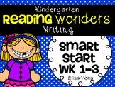 Kindergarten Reading Wonders Smart Start Writing Packet