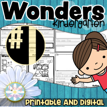Kindergarten Wonders - Unit 1