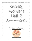 Kindergarten Reading Wonders Unit 2 Assessment