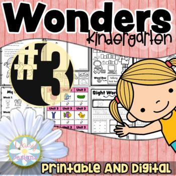Kindergarten Wonders - Unit 3