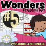 Kindergarten Wonders - Unit 5