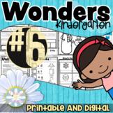 Kindergarten Wonders - Unit 6