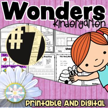 Kindergarten Wonders - Unit 7