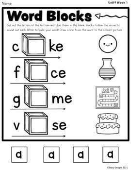 Kindergarten Wonders - Unit 9