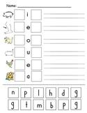 Kindergarten Reading and Math Practice