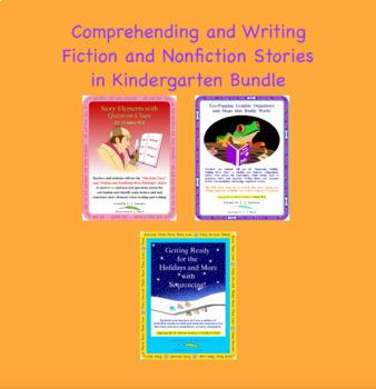 Kindergarten Reading and Writing Story Bundle