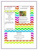Kindergarten Reading street unit 1.1 syllabus
