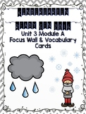 Kindergarten Ready Gen 2016 Focus Wall - Unit 3 Module A