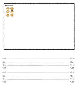Kindergarten ReadyGen Unit 4A performance task paper