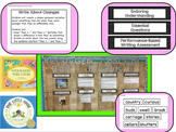 Kindergarten ReadyGen Units 1-6 Concept Board