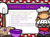 Kindergarten Recipe Cards