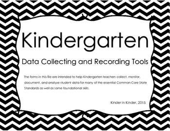 Kindergarten Data Recording Tools