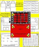 Kindergarten Red Words Unit 1