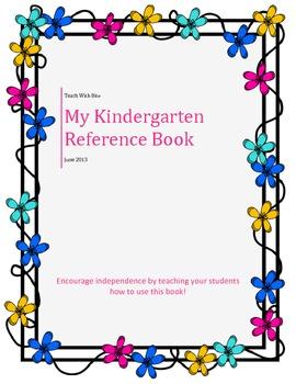 Kindergarten Reference Book