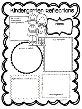 Kindergarten Reflections