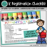 Kindergarten Registration Template for Social Media Websit