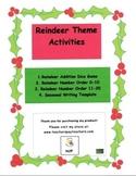 Kindergarten Reindeer Theme Activities
